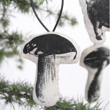 Stuffed Ornaments - Mushrooms
