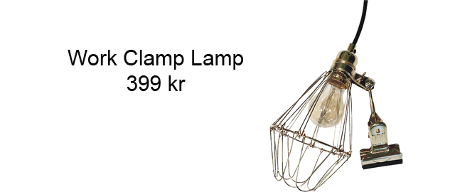 Work Clamp Lamp