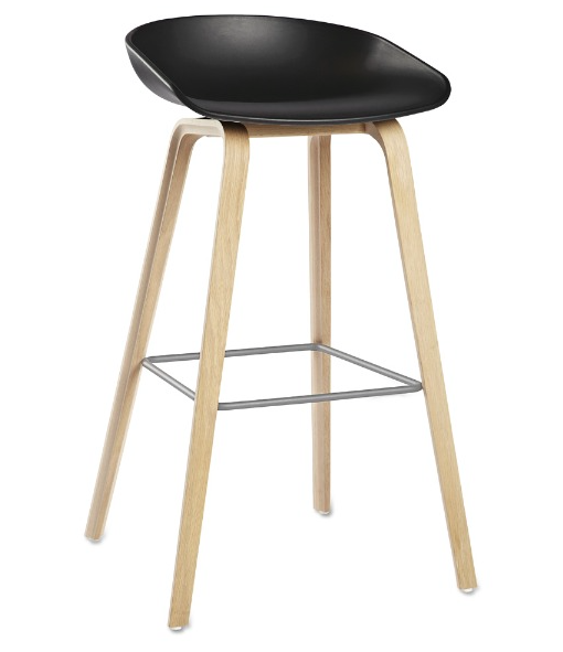 HAY Stol About A Stool, Barstol AAS 32, Sittehøyde: 75 cm
