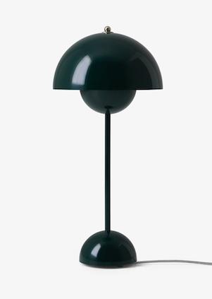 Bilde av Kampanje - Bordlampe Flower Pot VP3 Mørkegrønn