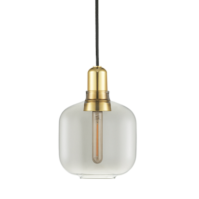 Bilde av Amp Lamp Smoke / Brass