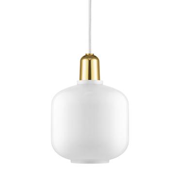 Bilde av Amp Lamp White / Brass