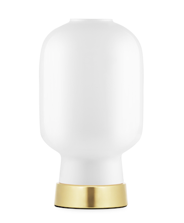 Bilde av Amp Table Lamp White / Brass