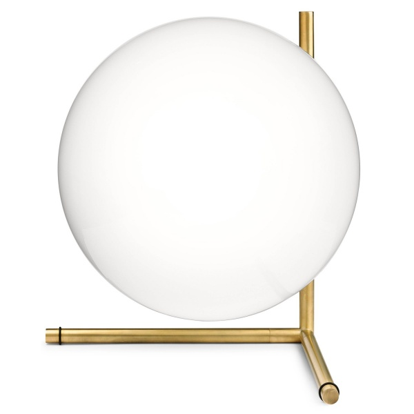 Bilde av FLOS IC T2 bordlampe, messing