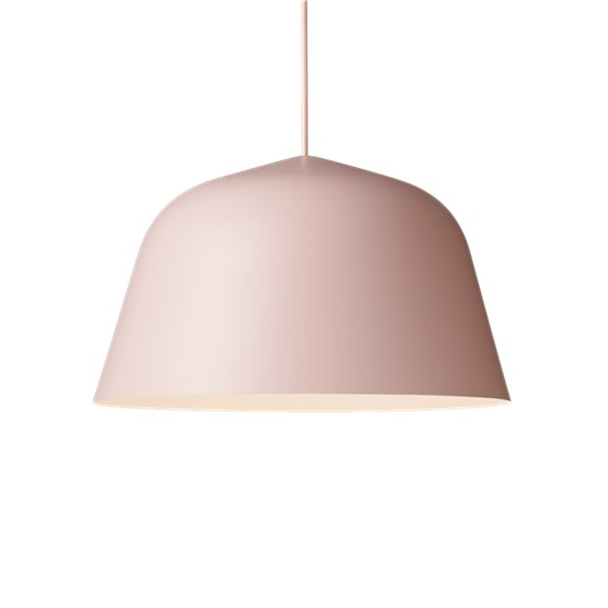 Ambit Lampe Rose Hviit No