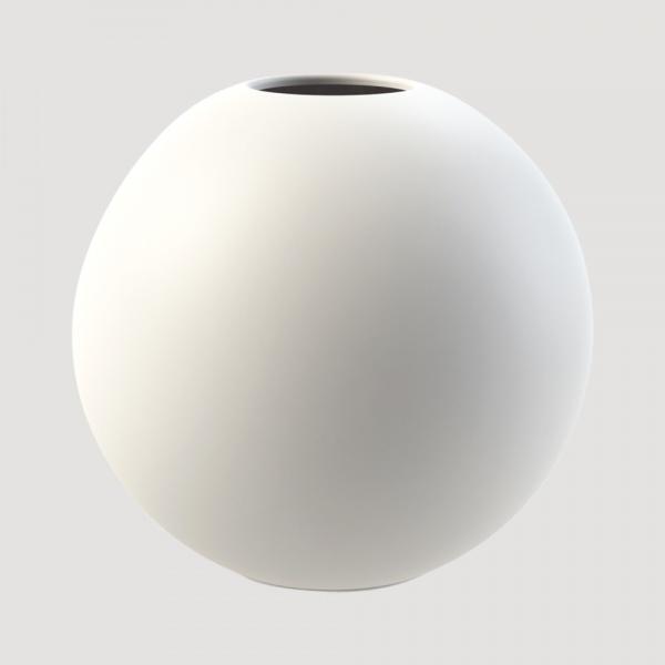 Bilde av Cooee Ball Vase Hvit 30 cm
