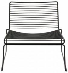Bilde av Hee Lounge Chair Black HAY