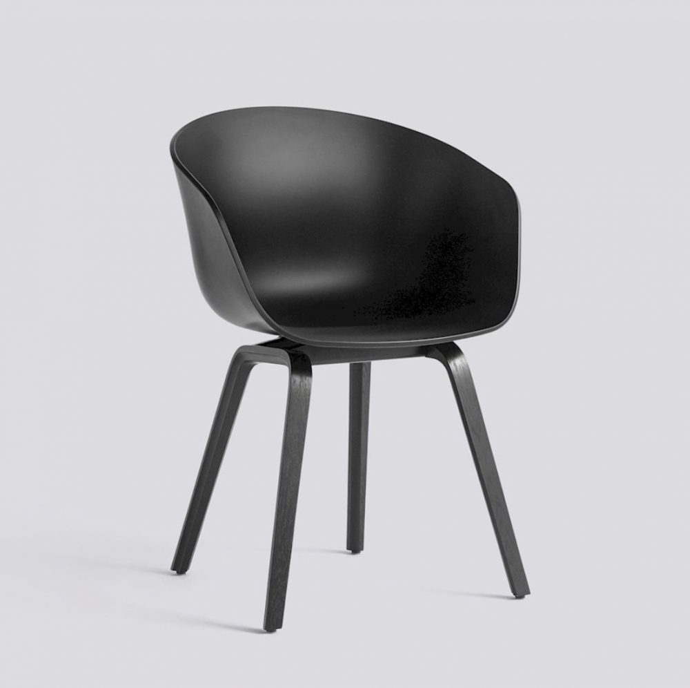 About A Chair AAC22 HAY stol Black AAC 22 Hviit.no
