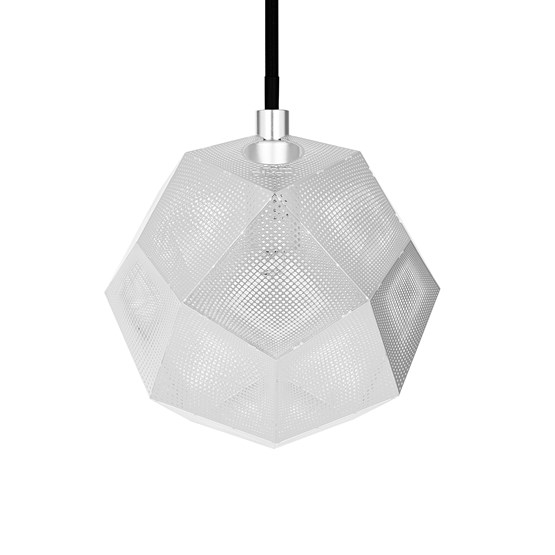 Tom Dixon Etch Shade Pendel Stainless Steel Lampe Hviit No