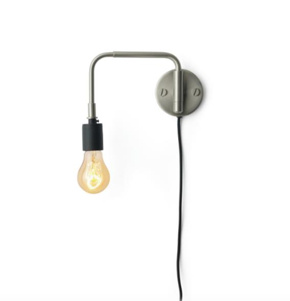 Staple Vegglampe B 248 Rstet St 229 L Menu Hviit No
