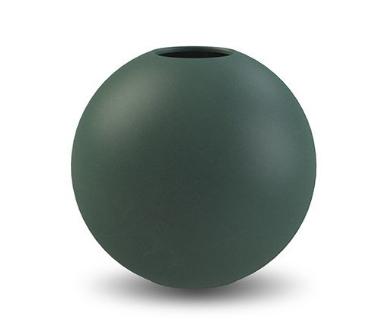Bilde av Cooee Ball Vase Mørkegrønn 10 cm