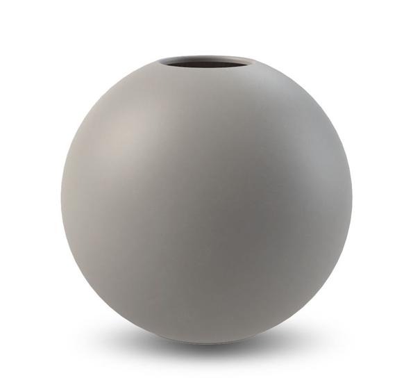Bilde av Cooee Ball Vase Grå 10 cm
