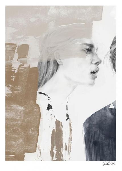 Bilde av Whispers 50 x 70 cm