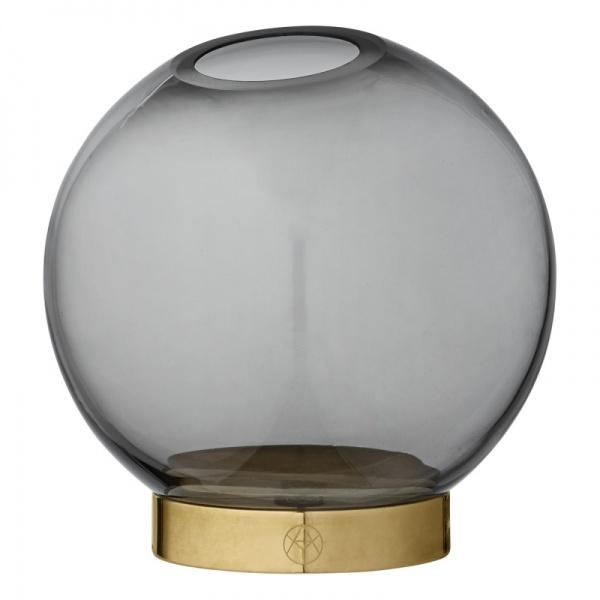 Bilde av Globe Vase L Smoke