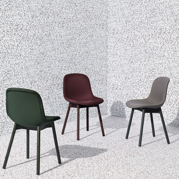 NEU 13 Chair Grey Black Upholstery HAY Hviit.no