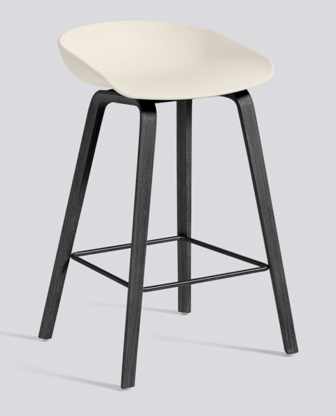 About A Stool AAS32 White HAY Hviit.no