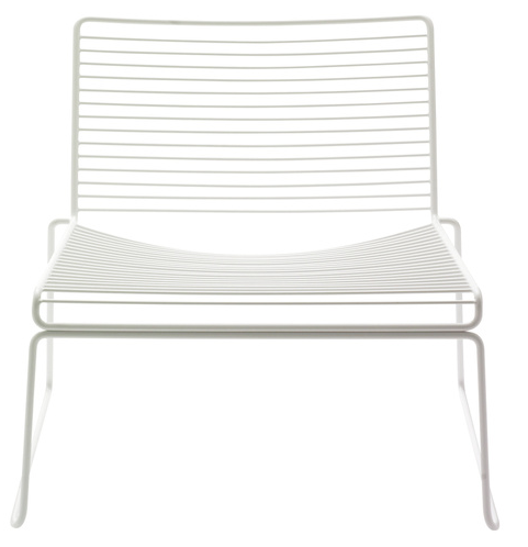 Bilde av Hee Lounge Chair White HAY